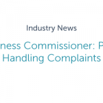 Small Business Commissioner: Process for Handling Complaints